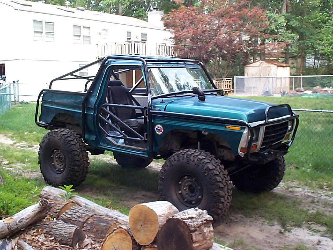 Dcp on 1996 Green Bronco